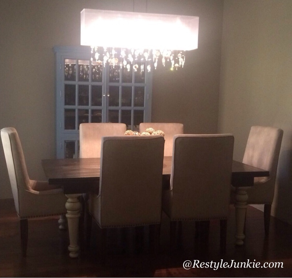 Blue Dining Room Reveal