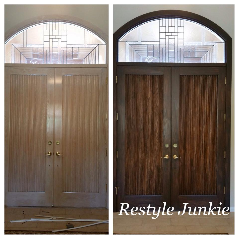 Painted Kitchen Cabinets Vs Stained: Exterior Front Doors, Scottsdale Arizona And General