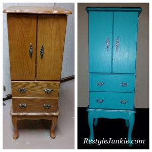 Before and After Jewelry chest photo