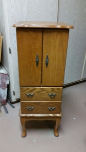 Jewelry Chest before Restyle