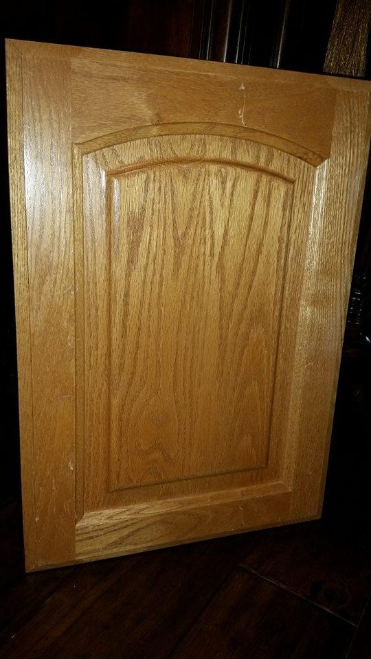 Honey Oak Cabinet Door